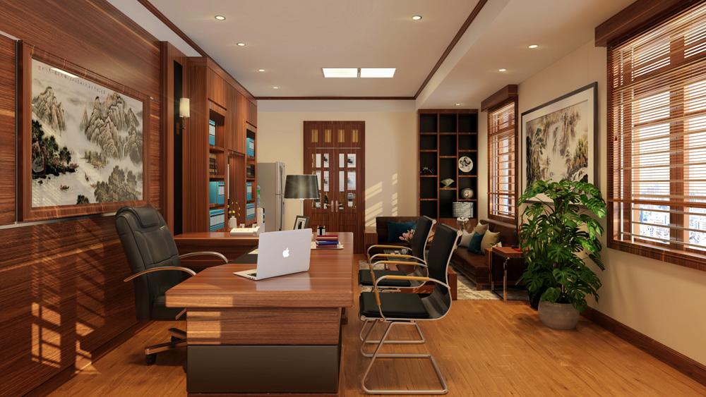 Mẫu thiết kế nội thất phòng giám đốc ấn tượng – lãnh đạo nào cũng mê