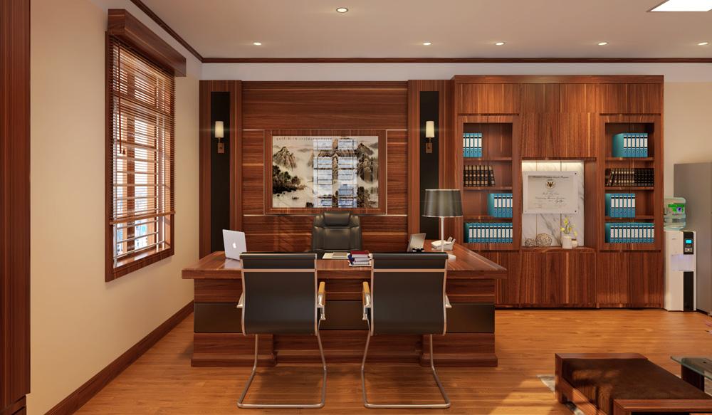 mẫu thiết kế nội thất phòng giám đốc đẹp 3