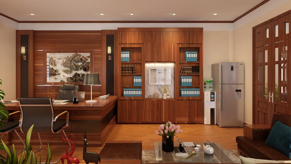 mẫu thiết kế nội thất phòng giám đốc đẹp 6