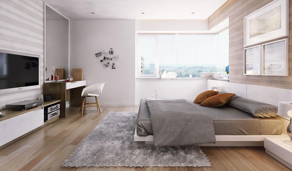 thiết kế nội thất chung cư 86m2 ảnh 10