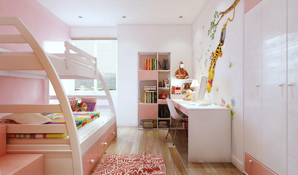 thiết kế nội thất chung cư 86m2 ảnh 11