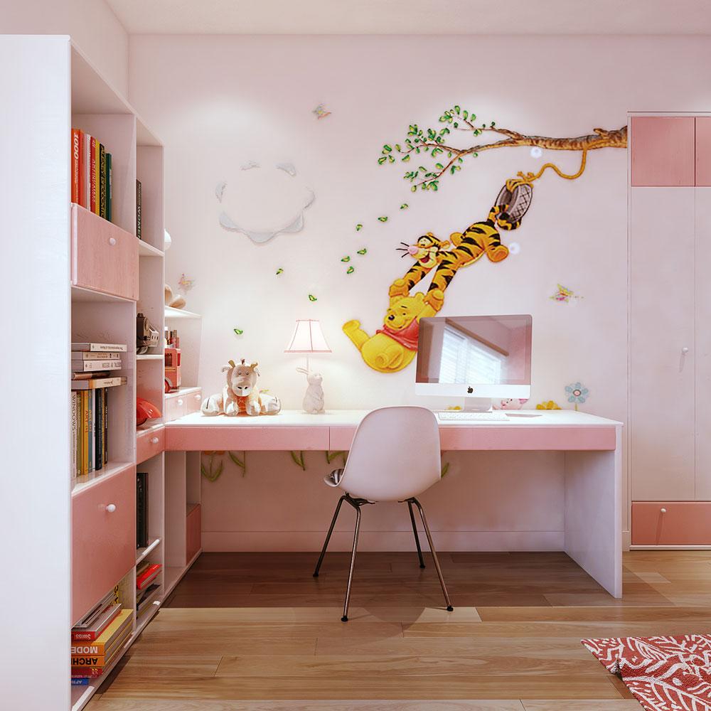 thiết kế nội thất chung cư 86m2 ảnh 12