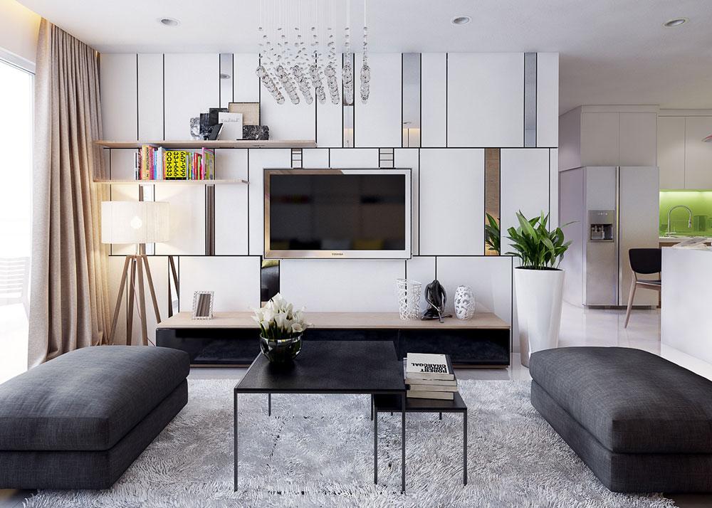 thiết kế nội thất chung cư 86m2 ảnh 3