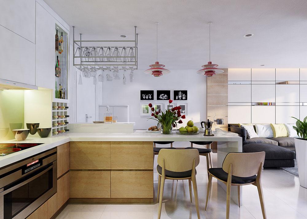 thiết kế nội thất chung cư 86m2 ảnh 4