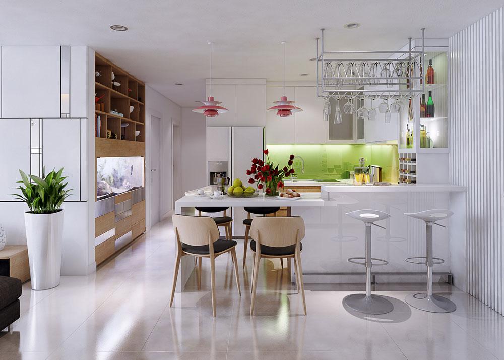 thiết kế nội thất chung cư 86m2 ảnh 6