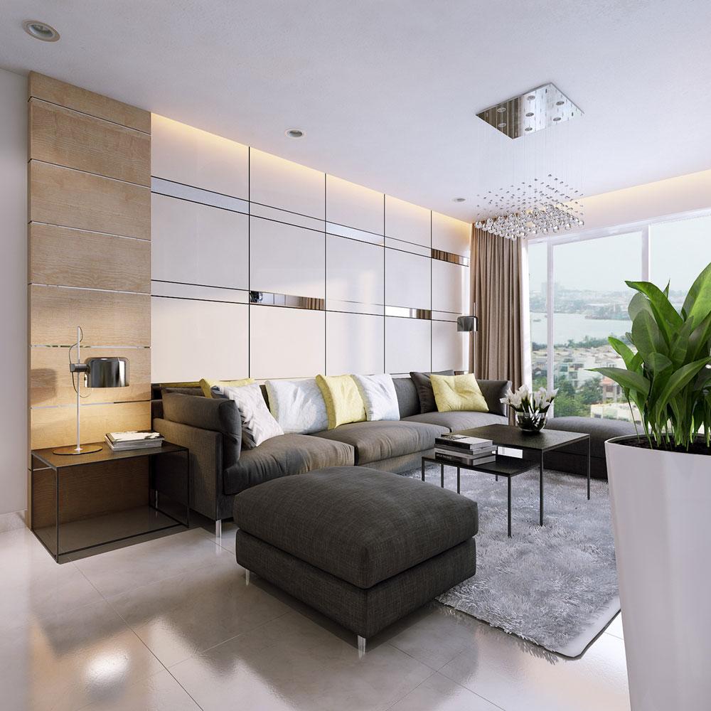 Thiết kế nội thất chung cư 86m2 xinh xắn tiện nghi