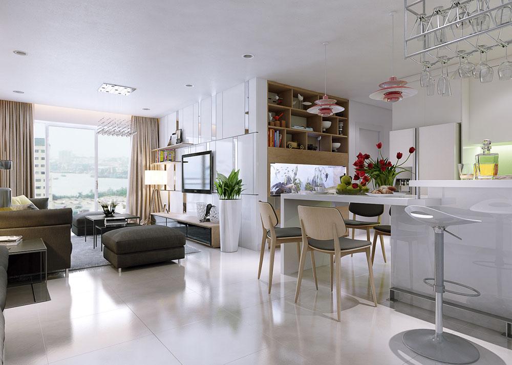 thiết kế nội thất chung cư 86m2 ảnh 8
