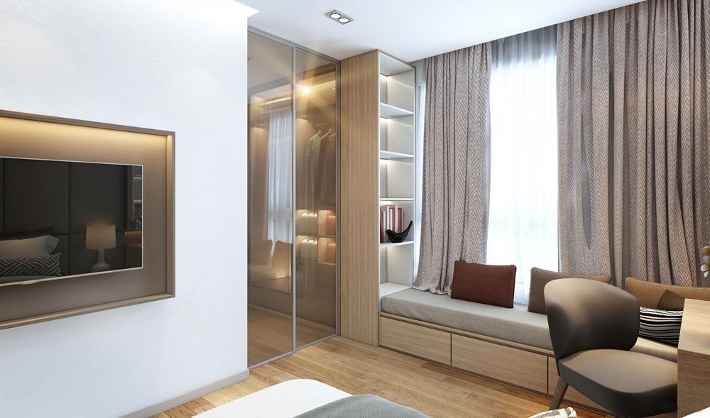 thiết kế nội thất chung cư đẹp giá rẻ hà nội 11