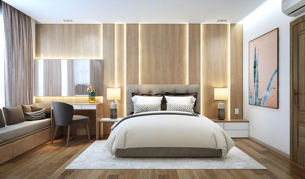 thiết kế nội thất chung cư đẹp giá rẻ hà nội 12