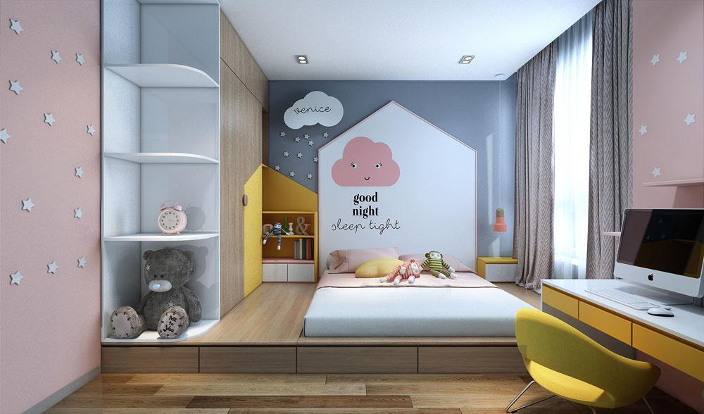 thiết kế nội thất chung cư đẹp giá rẻ hà nội 13