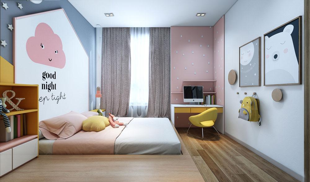 thiết kế nội thất chung cư đẹp giá rẻ hà nội 14