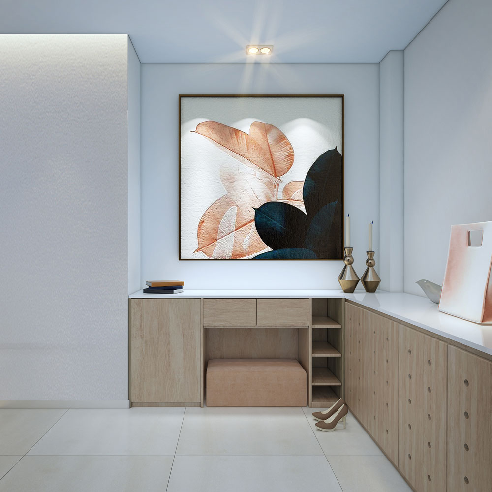 thiết kế nội thất chung cư đẹp giá rẻ hà nội 2
