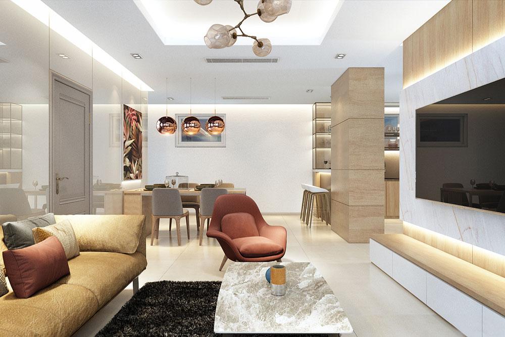thiết kế nội thất chung cư đẹp giá rẻ hà nội 5