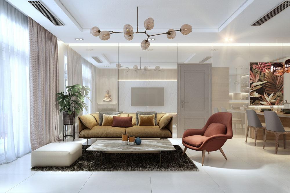 thiết kế nội thất chung cư đẹp giá rẻ hà nội 6