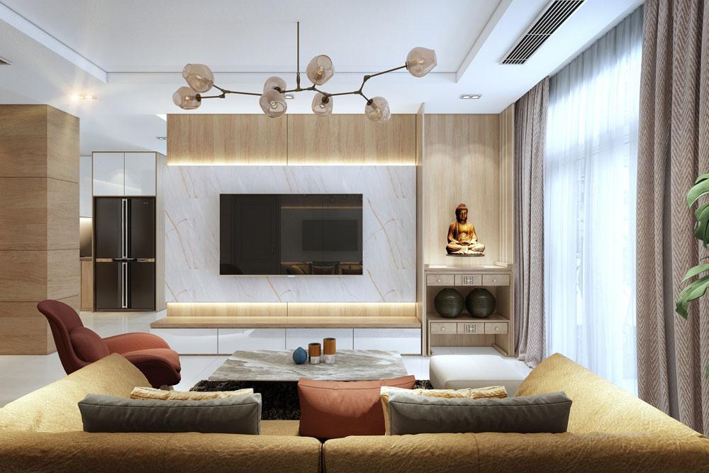 thiết kế nội thất chung cư đẹp giá rẻ hà nội 7