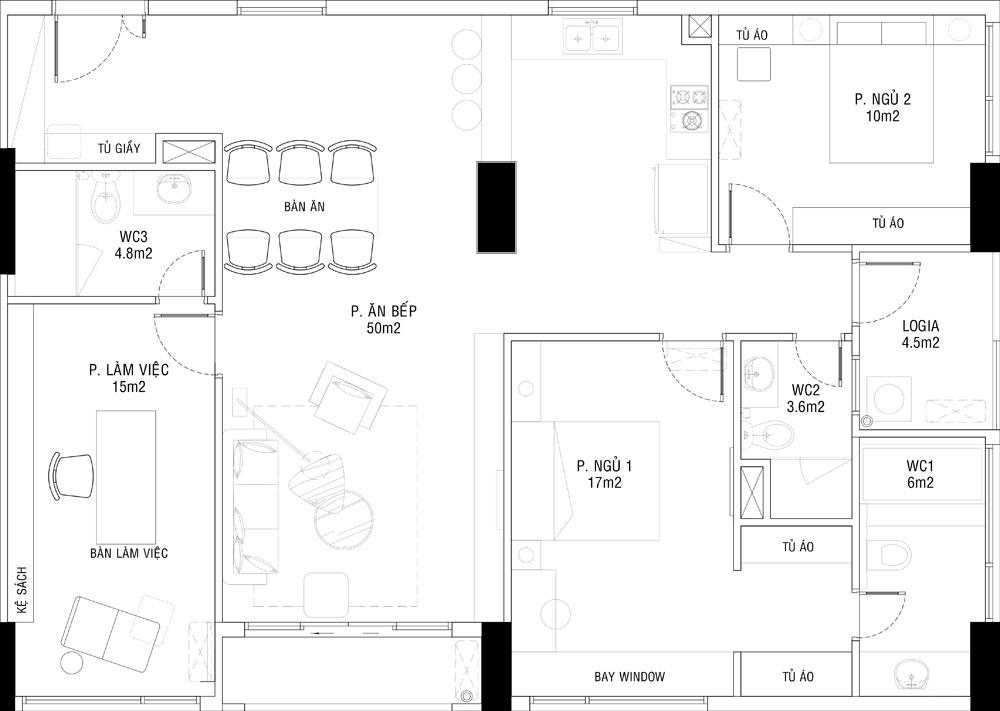 thiết kế nội thất chung cư đẹp giá rẻ hà nội 8