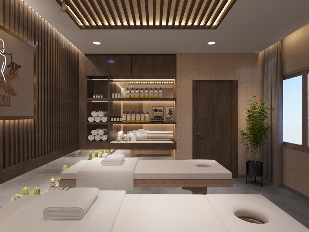 thiết kế nội thất spa đẹp ấn tượng ảnh 10