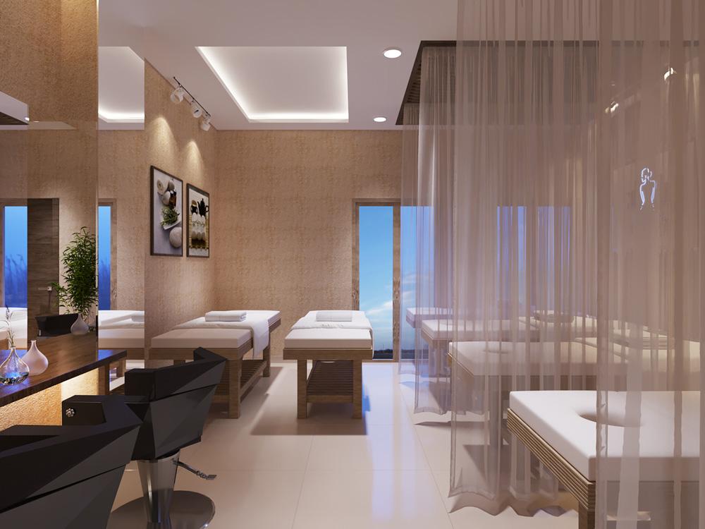 thiết kế nội thất spa đẹp ấn tượng ảnh 2