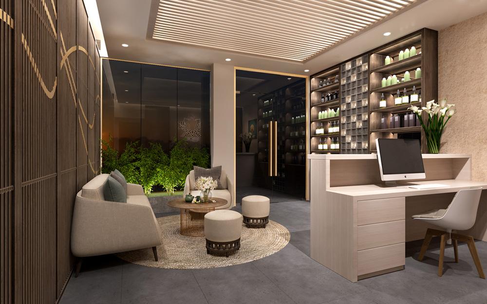 thiết kế nội thất spa đẹp ấn tượng ảnh 4