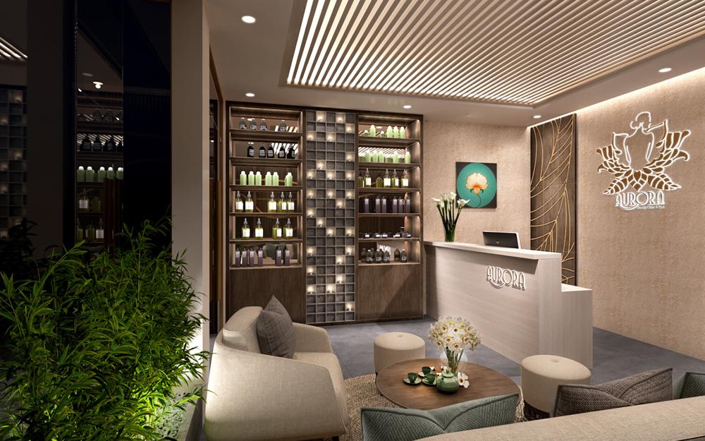 thiết kế nội thất spa đẹp ấn tượng ảnh 7