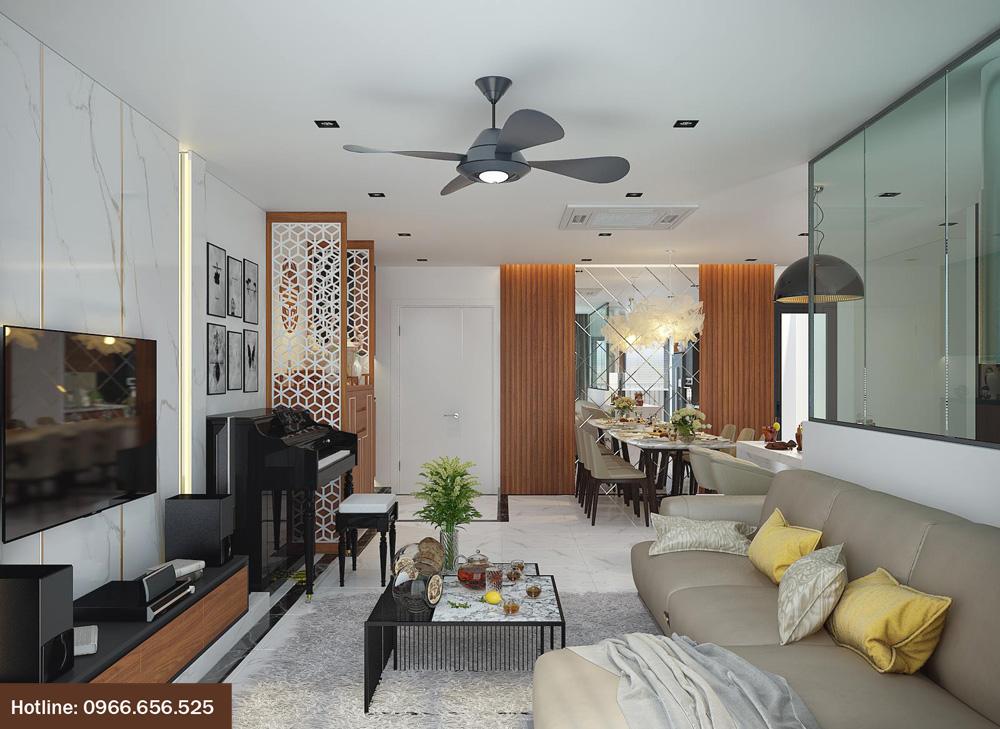 Ý tưởng thiết kế nội thất chung cư đẹp hiện đại 2018