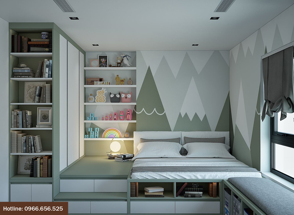 ý tưởng thiết kế nội thất chung cư đẹp 2018 ảnh 18