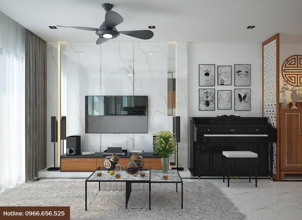 ý tưởng thiết kế nội thất chung cư đẹp 2018 ảnh 2