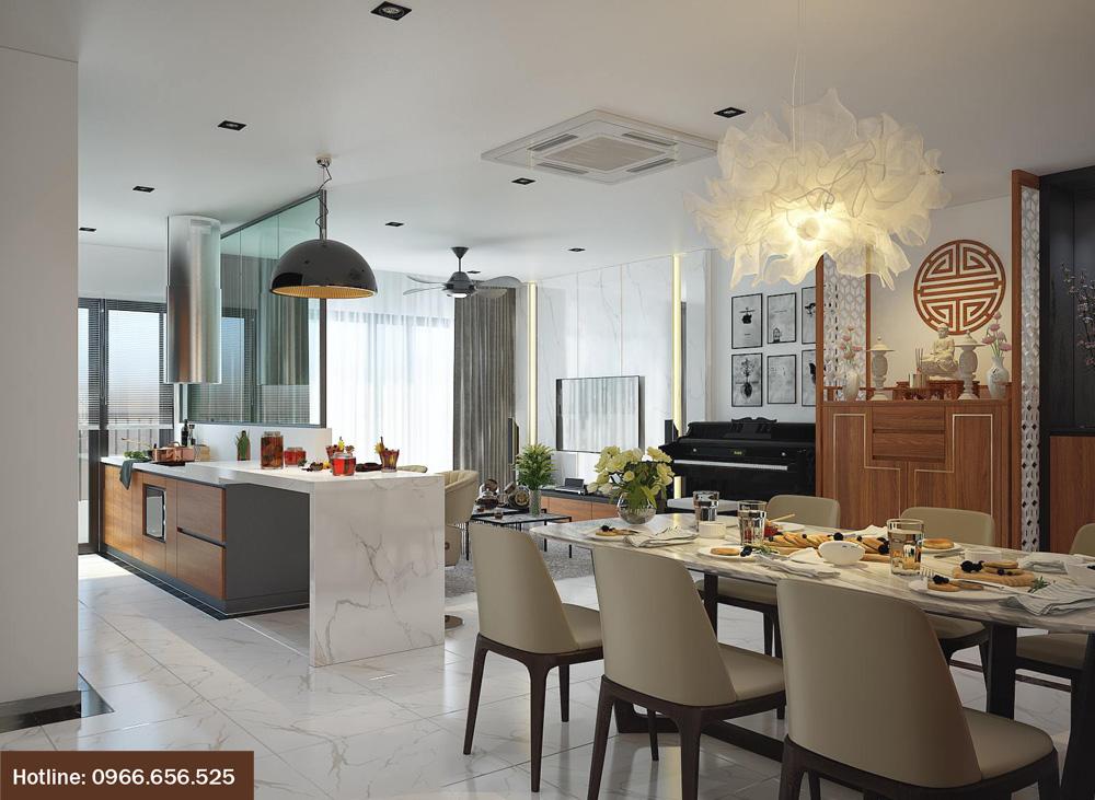 ý tưởng thiết kế nội thất chung cư đẹp 2018 ảnh 4