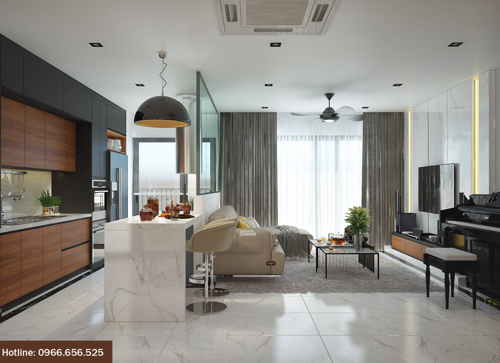 ý tưởng thiết kế nội thất chung cư đẹp 2018 ảnh 9