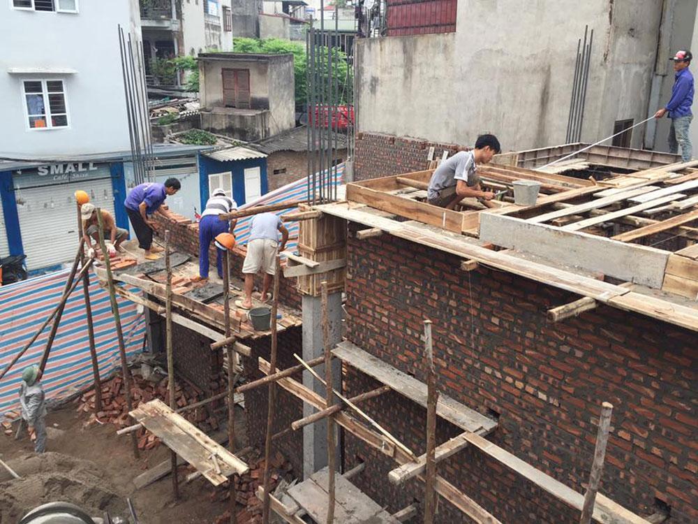 Công ty xây dựng nhà phố uy tín Hà Nội