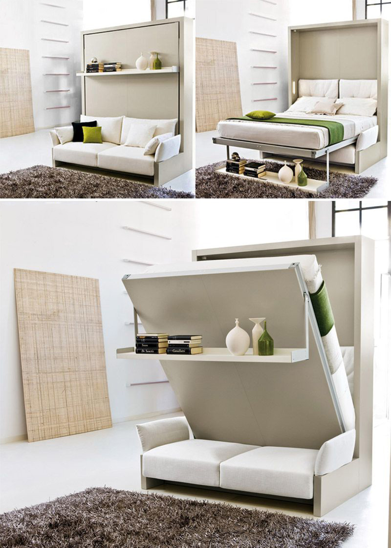 mẹo giúp không gian rộng rãi sofa thông minh