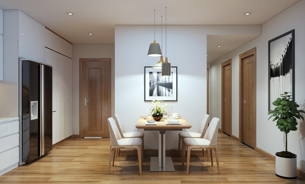thi công nội thất chung cư bằng gỗ công nghiệp 10