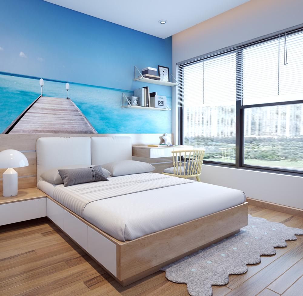 thi công nội thất chung cư bằng gỗ công nghiệp 13