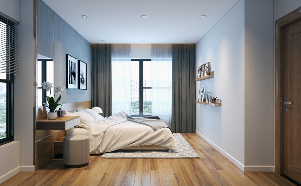 thi công nội thất chung cư bằng gỗ công nghiệp 15