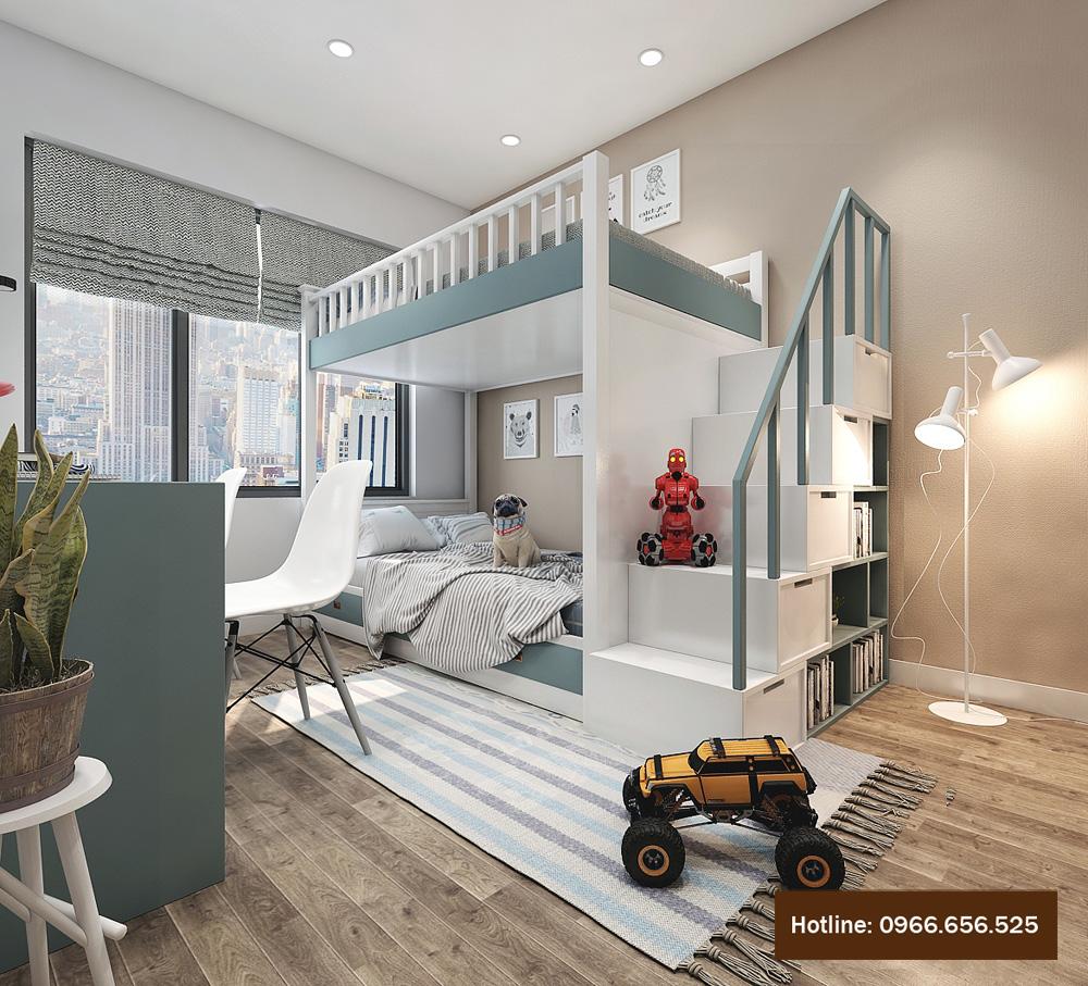 thiết kế nội thất chung cư 4 người ở 12