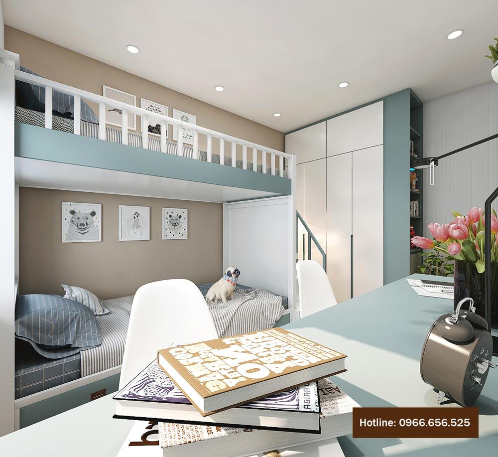 thiết kế nội thất chung cư 4 người ở 13