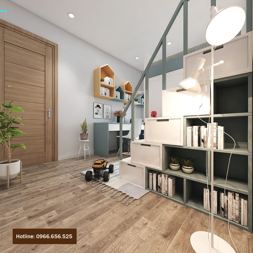 thiết kế nội thất chung cư 4 người ở 14