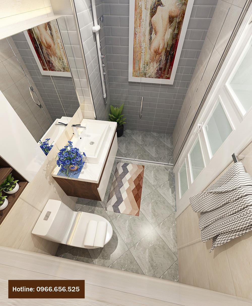 thiết kế nội thất chung cư 4 người ở 18