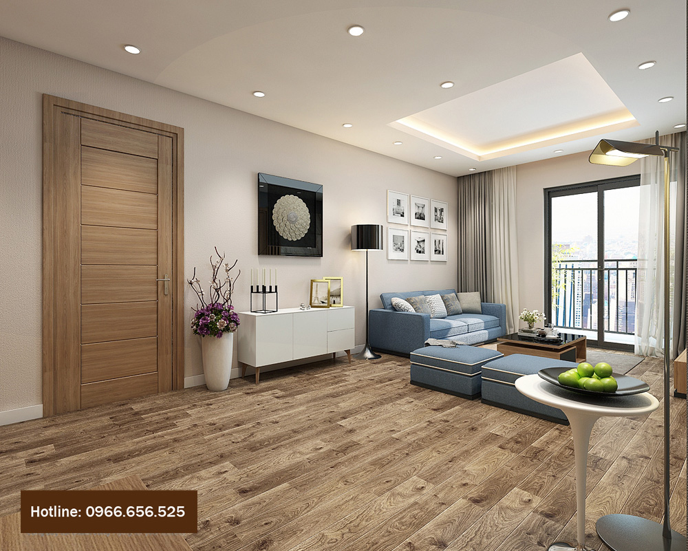 thiết kế nội thất chung cư 4 người ở 3