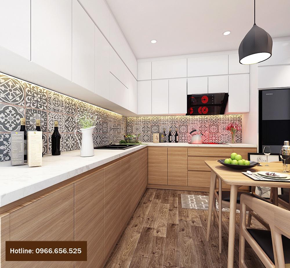 thiết kế nội thất chung cư 4 người ở 7
