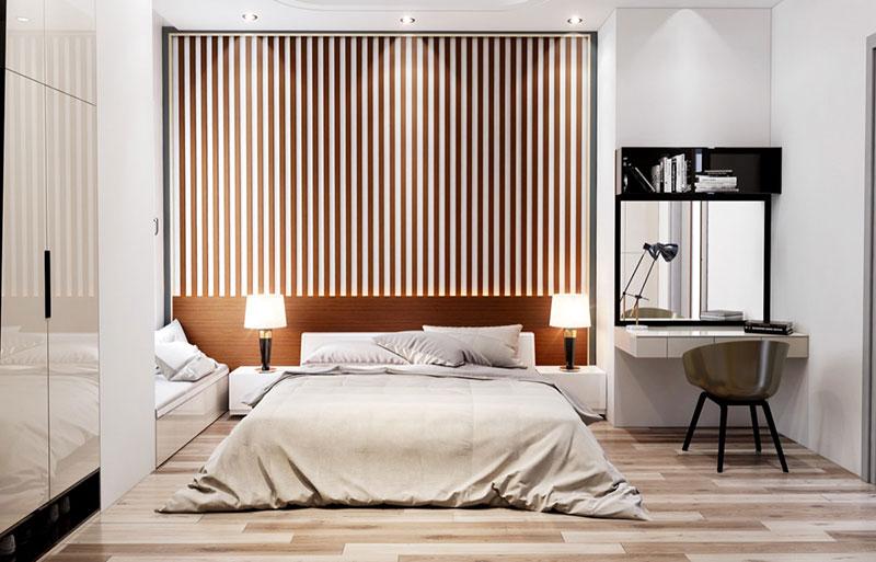 trang trí phòng ngủ với ánh sáng