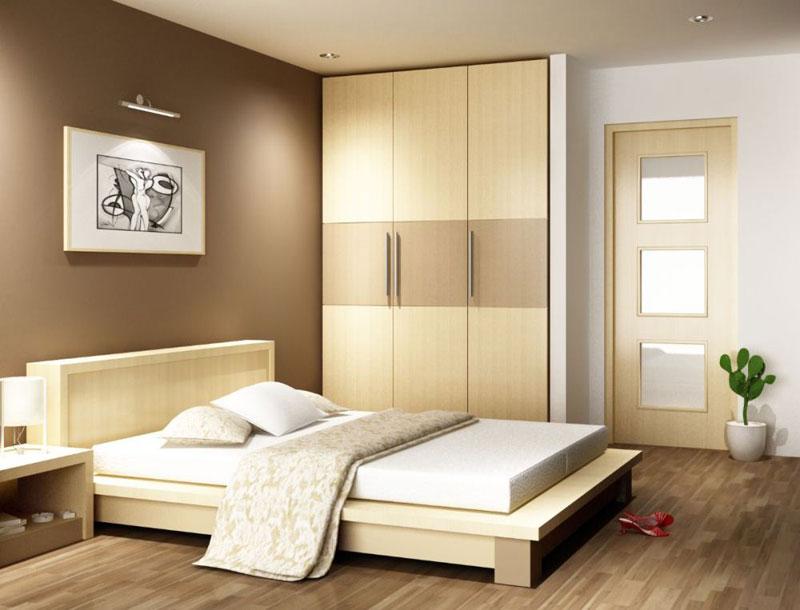 trang trí phòng ngủ bằng tranh treo