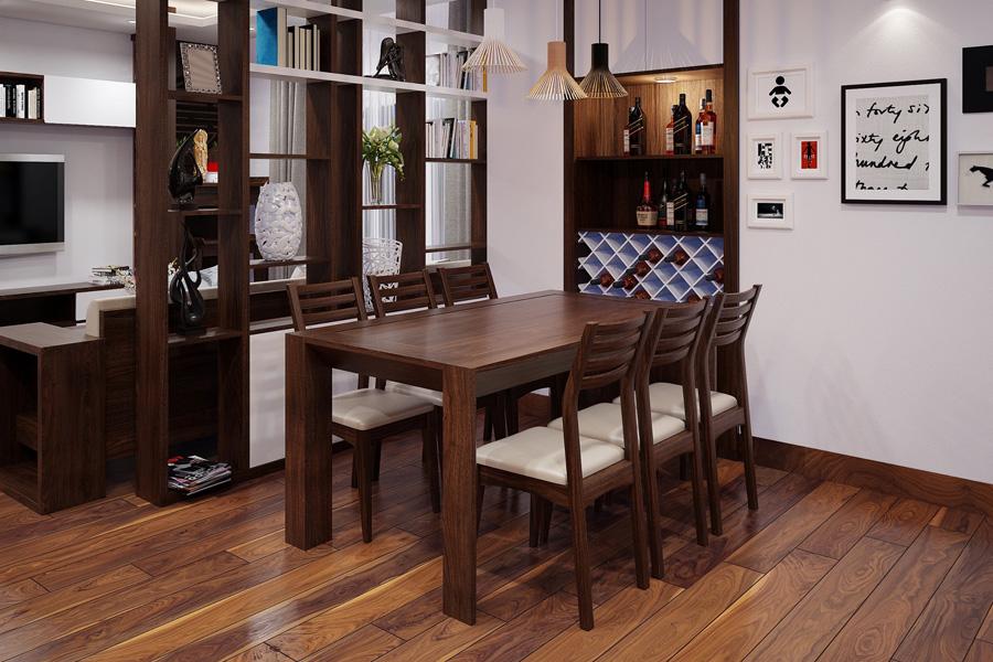 bàn ăn đẹp cho phòng bếp