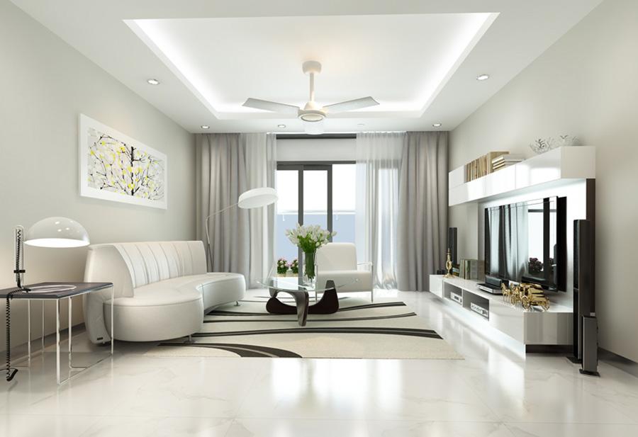 Thiết kế phòng khách cho căn hộ nhỏ ít người