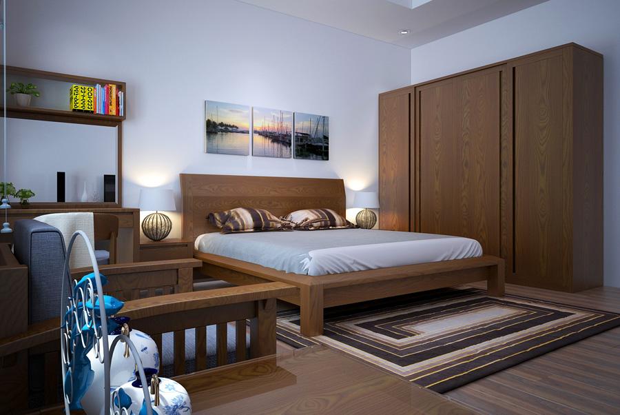 Trang trí phòng ngủ đẹp, hiện đại mà cá tính