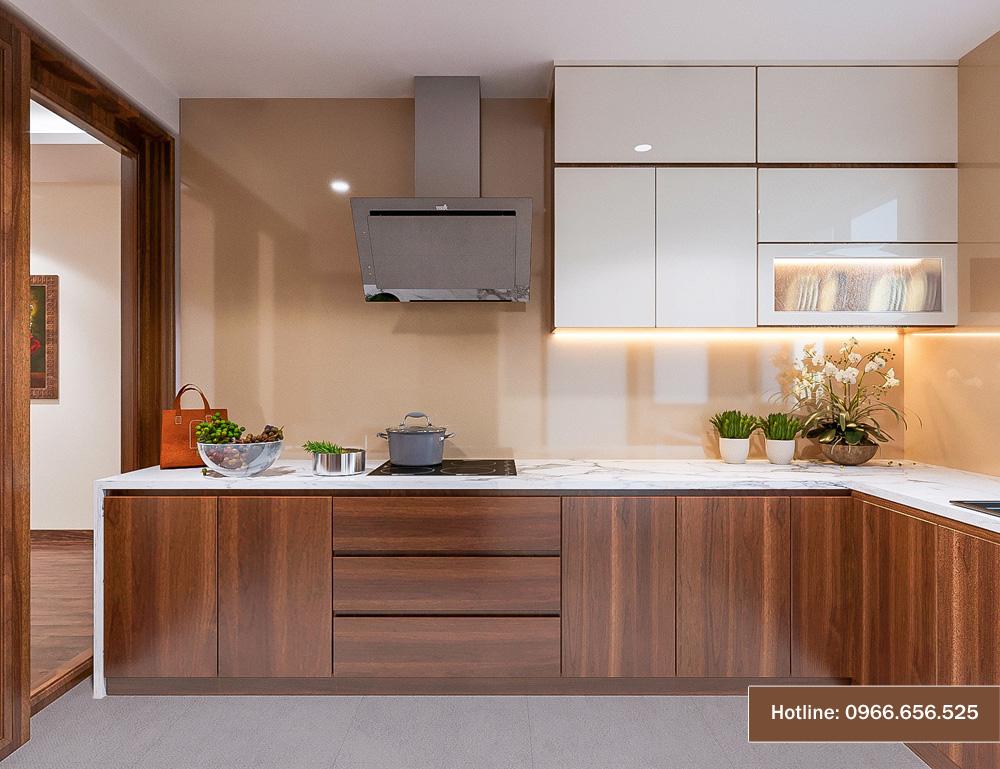 mẫu thiết kế nội thất chung cư sang trọng hiện đại 10