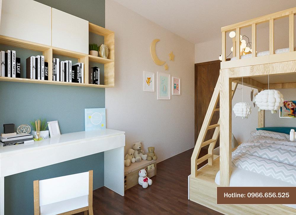 mẫu thiết kế nội thất chung cư sang trọng hiện đại 11