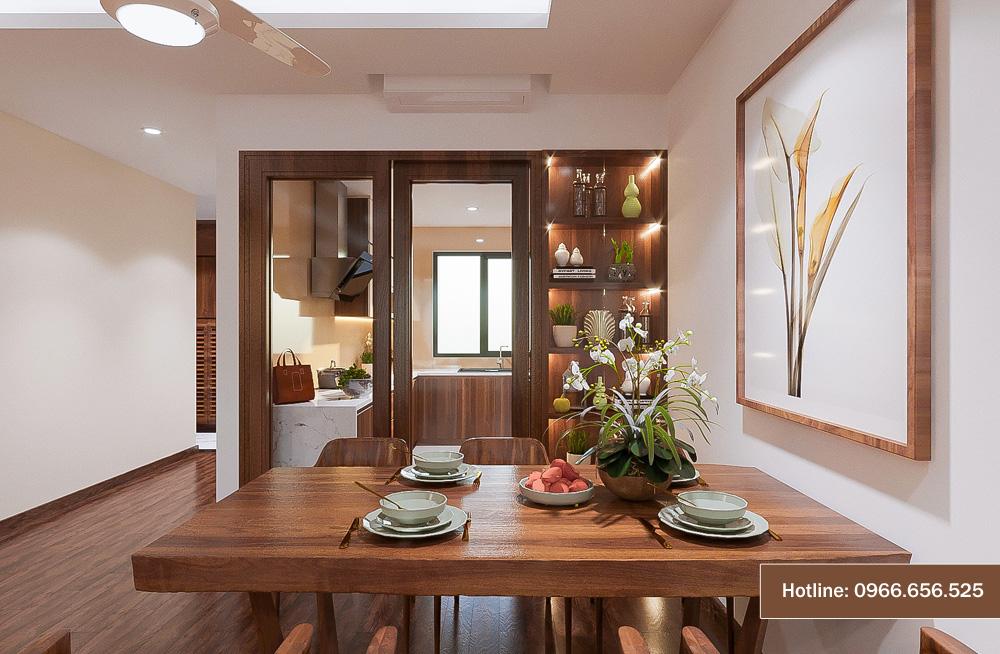 mẫu thiết kế nội thất chung cư sang trọng hiện đại 15