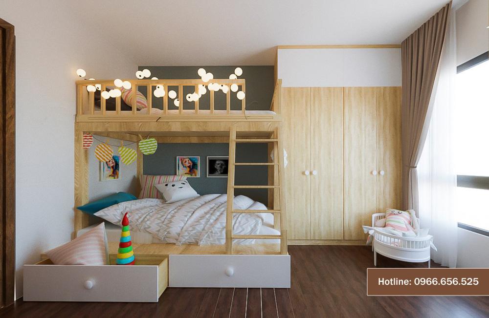 mẫu thiết kế nội thất chung cư sang trọng hiện đại 5