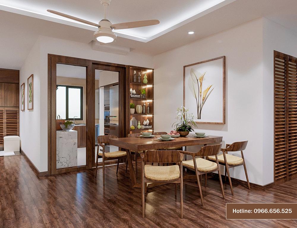 mẫu thiết kế nội thất chung cư sang trọng hiện đại 8